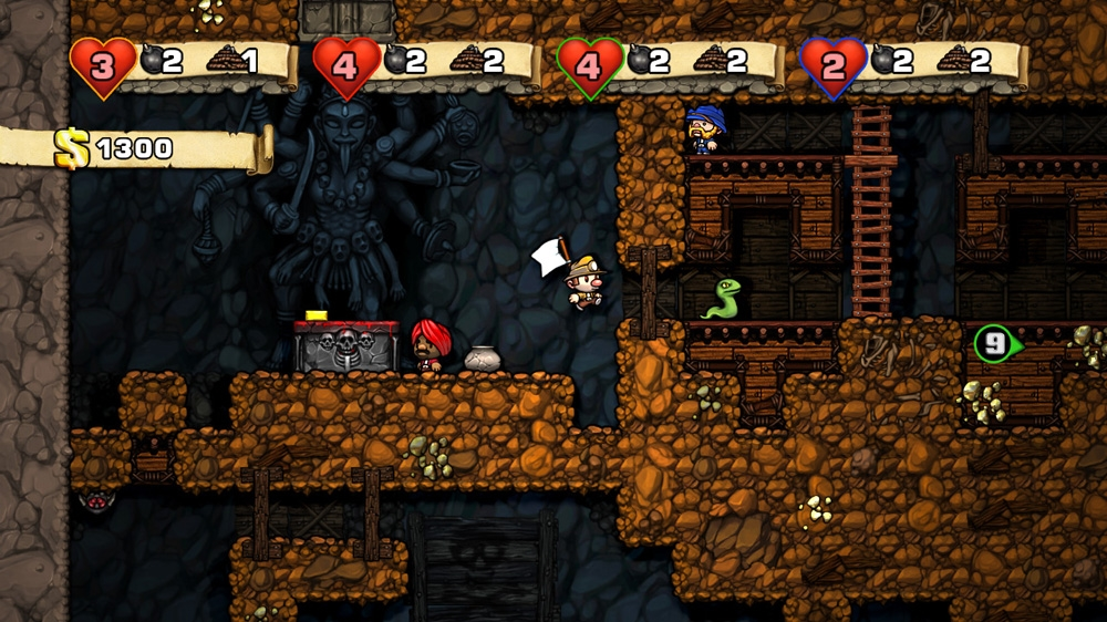 Image from Spelunky