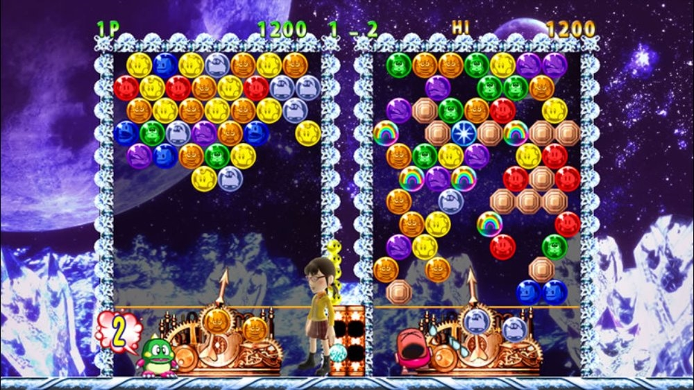 Image from PUZZLE BOBBLE Live!