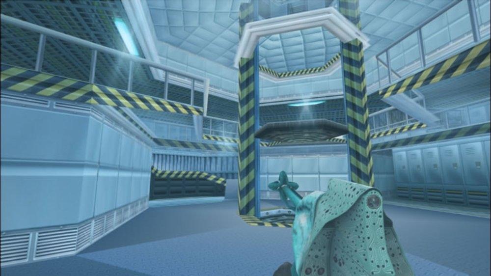 Snímek ze hry Perfect Dark