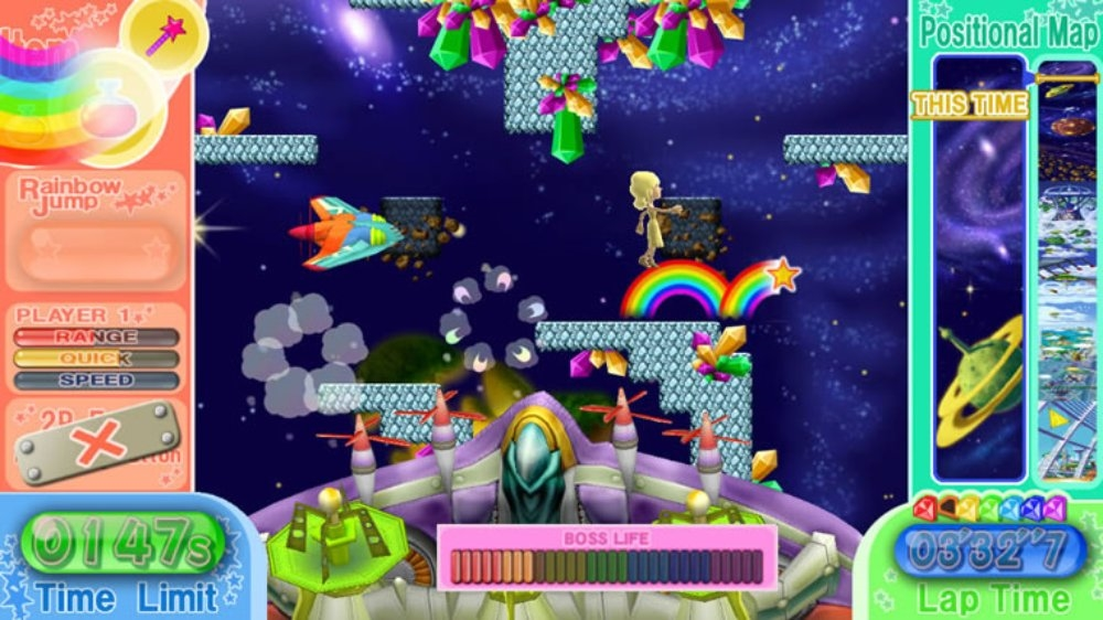 Image from RAINBOW ISLANDS: T.A.