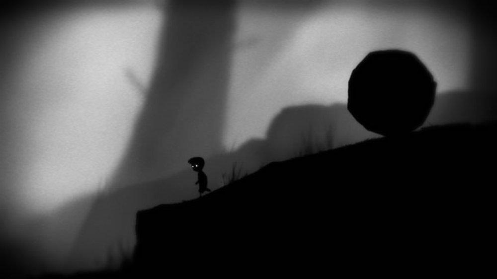 Snímek ze hry LIMBO
