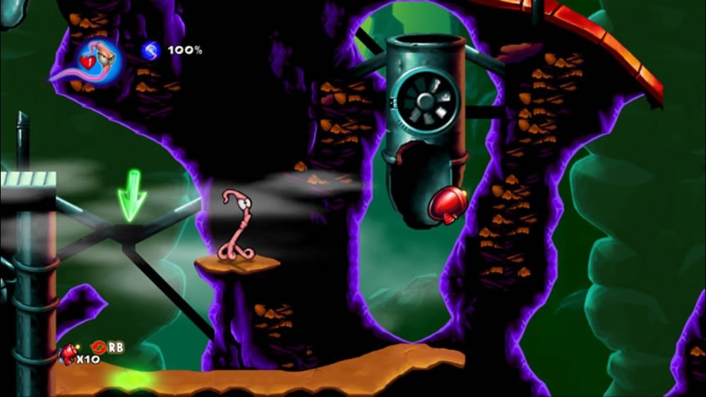 Image from Earthworm Jim HD