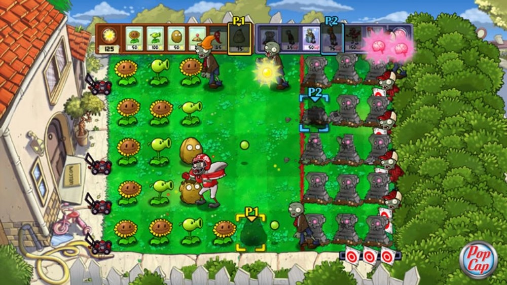 Kép, forrása: Plants vs. Zombies