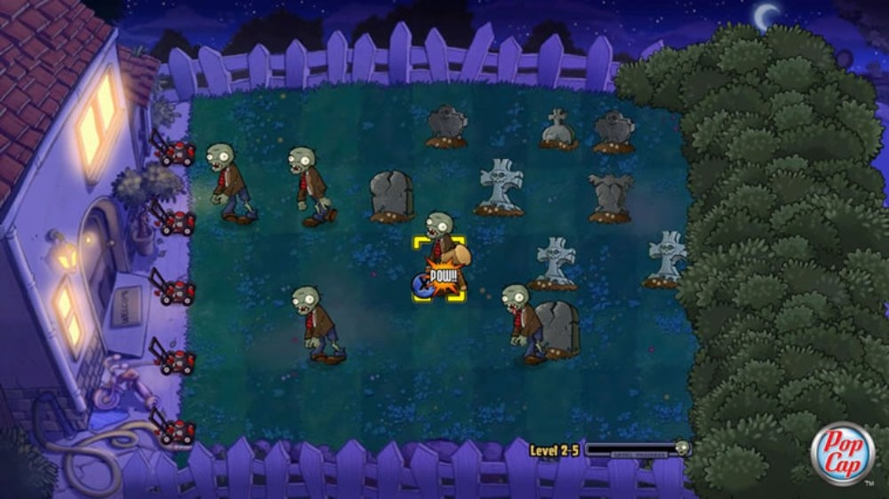 Obraz z Plants vs. Zombies
