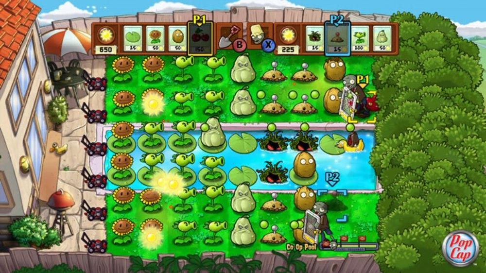 Imagenes plantas contra zombies xbox 360 descargar