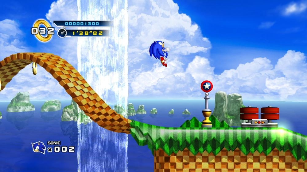 Image from SONIC THE HEDGEHOG™ 4 Episode I