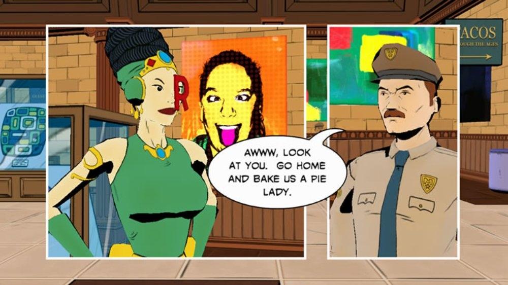 Εικόνα από Comic Jumper