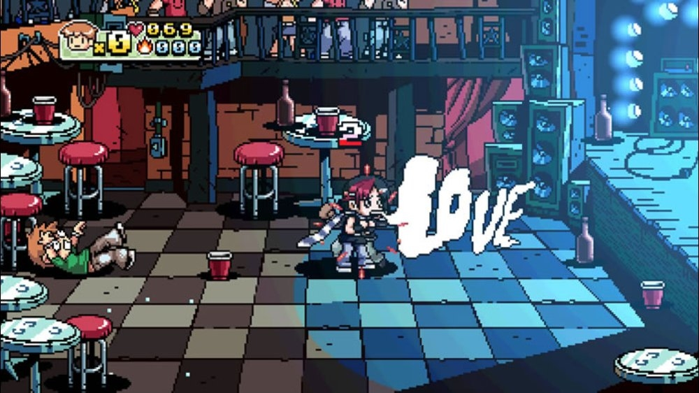 Image from SCOTT PILGRIM THE GAME