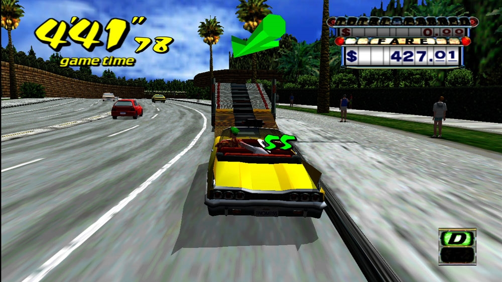 Image from Crazy Taxi