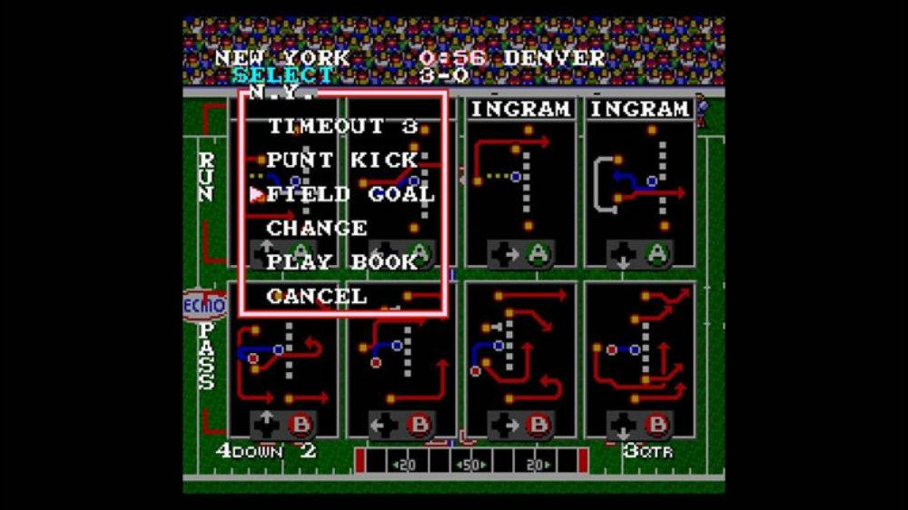 Image from Tecmo Bowl Throwback®