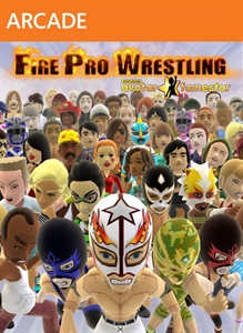 [XBLA] Fire Pro Wrestling Boxartlg