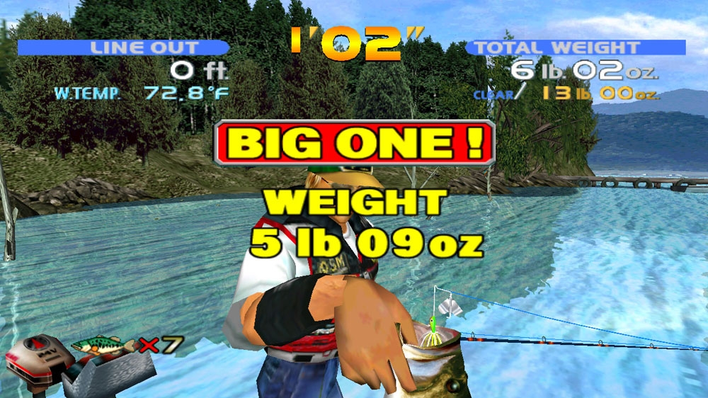 Image from SEGA Bass Fishing