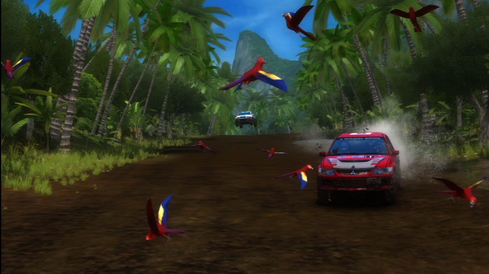 Image from SEGA Rally Online Arcade