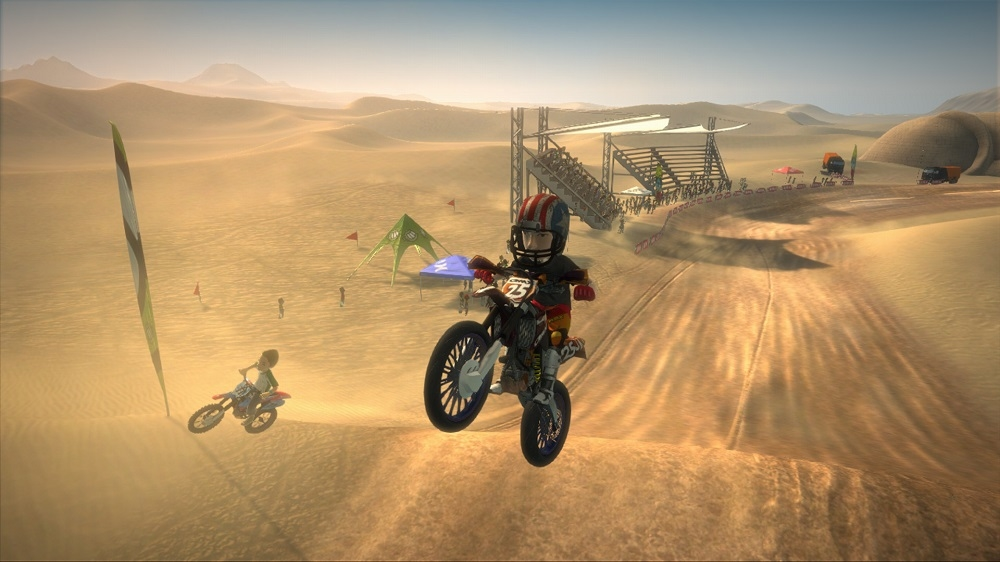 Image from Motocross Madness