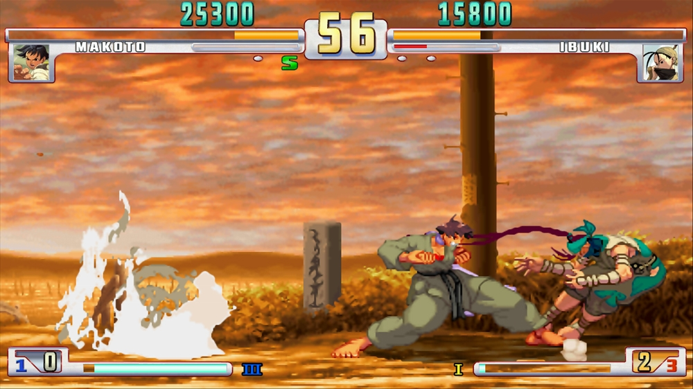 Image from Street Fighter III: Online Edition