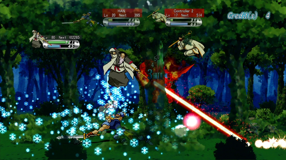 Image from GUARDIAN HEROES (TM)
