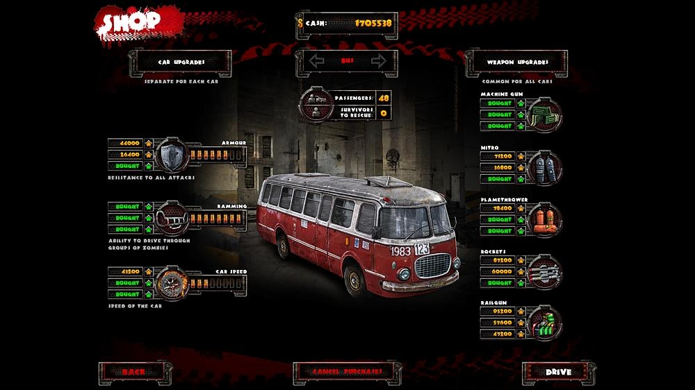 Image from Zombie Driver HD