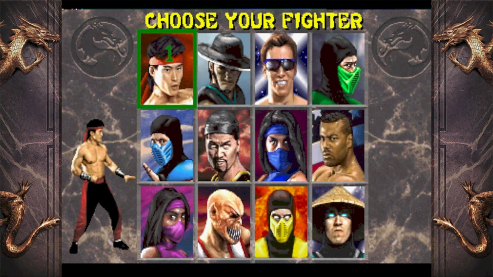 Image from Mortal Kombat Arcade