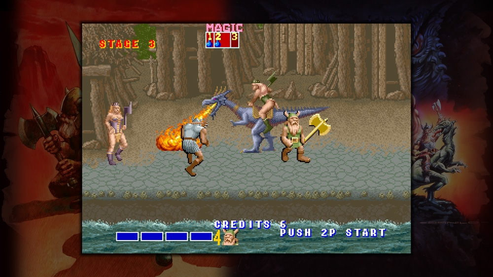 Image from Sega Vintage Collection: Golden Axe