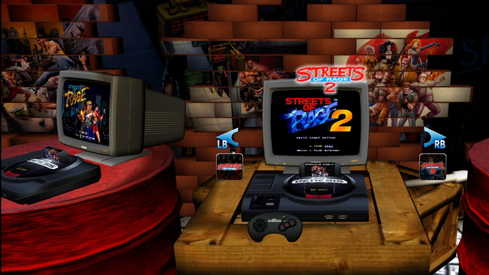 Image from Sega Vintage Collection: Streets of Rage