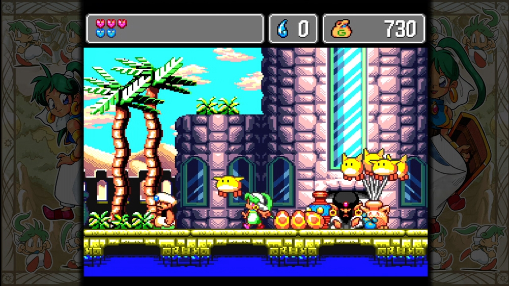 Snímek ze hry Sega Vintage Collection: Monster World