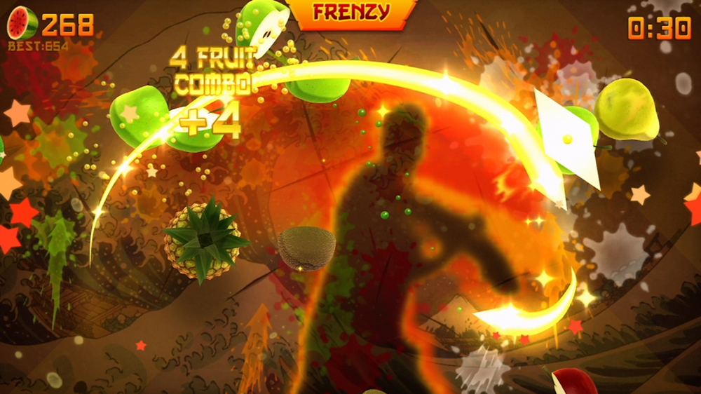 Bild von Fruit Ninja Kinect 