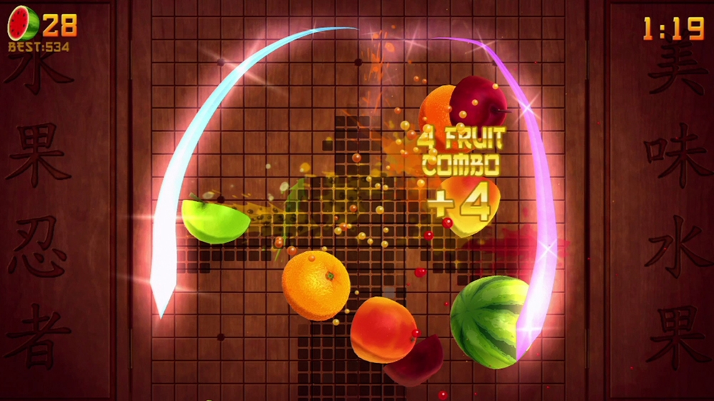Kuva pelist Fruit Ninja Kinect 