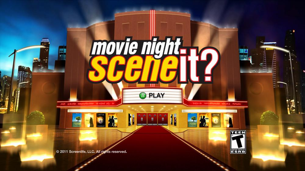 Image from Scene It? Movie Night
