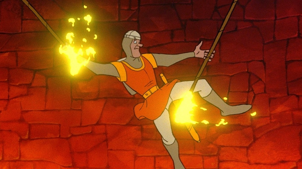 Image from Dragon&#39;s Lair