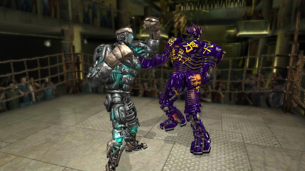 REAL STEEL のイメージ
