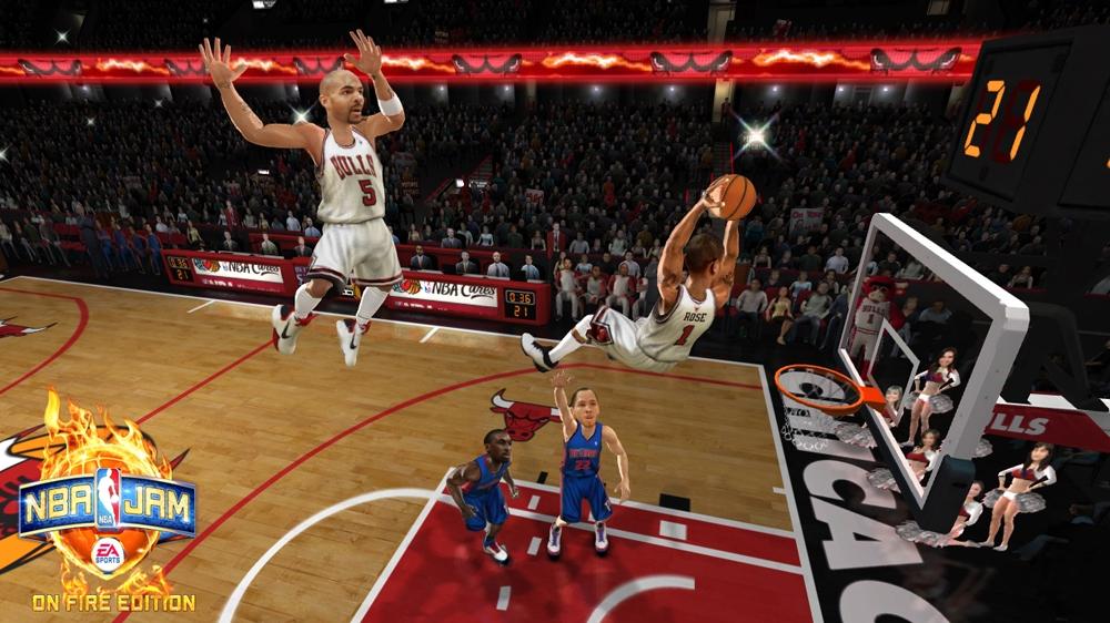 Imagem de NBA JAM: On Fire Edition