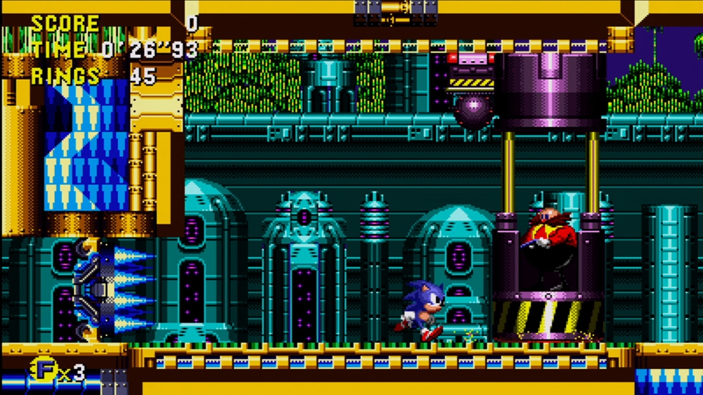 Kp, forrsa: Sonic CD