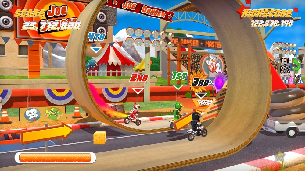 Image from Joe Danger Special Edition
