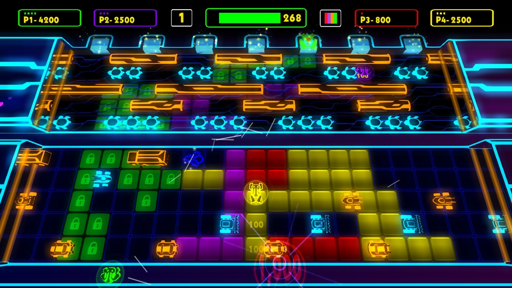 Image from Frogger: Hyper Arcade Edition