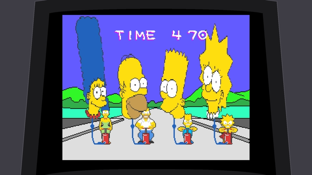 Image from The Simpsons™ Arcade Game