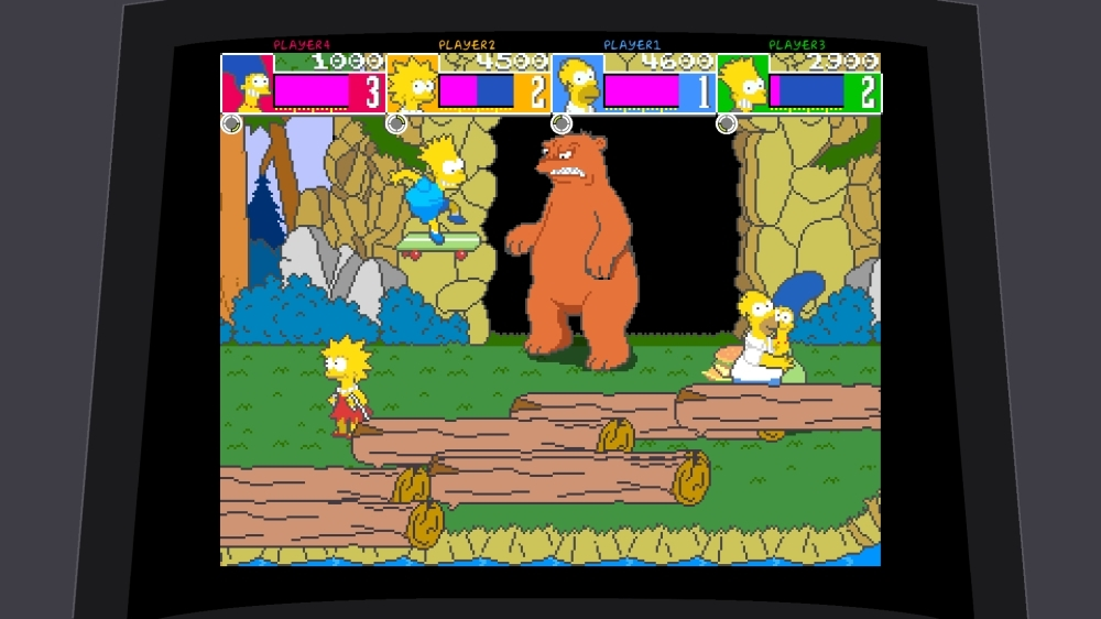 Imagen de The Simpsons Arcade Game