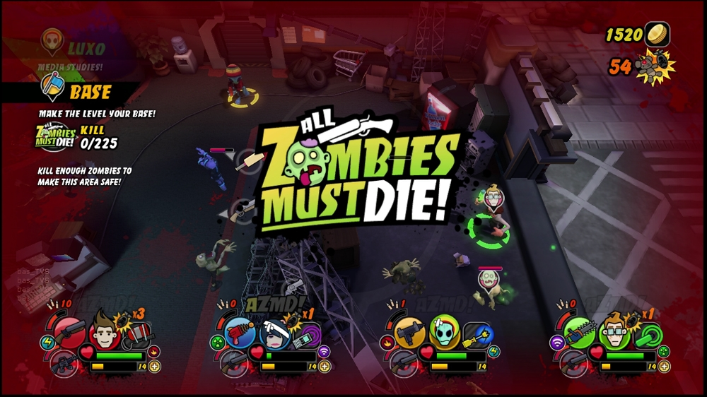 Image from All Zombies Must Die!