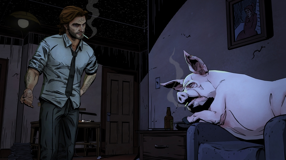 Kuva pelistä The Wolf Among Us
