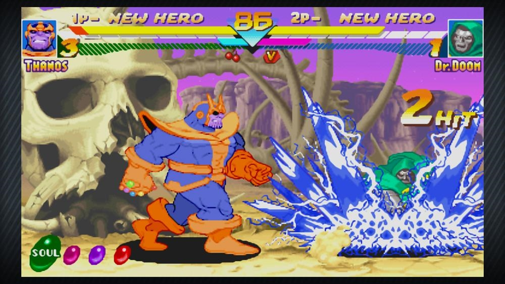 Image from Marvel vs. Capcom: Origins