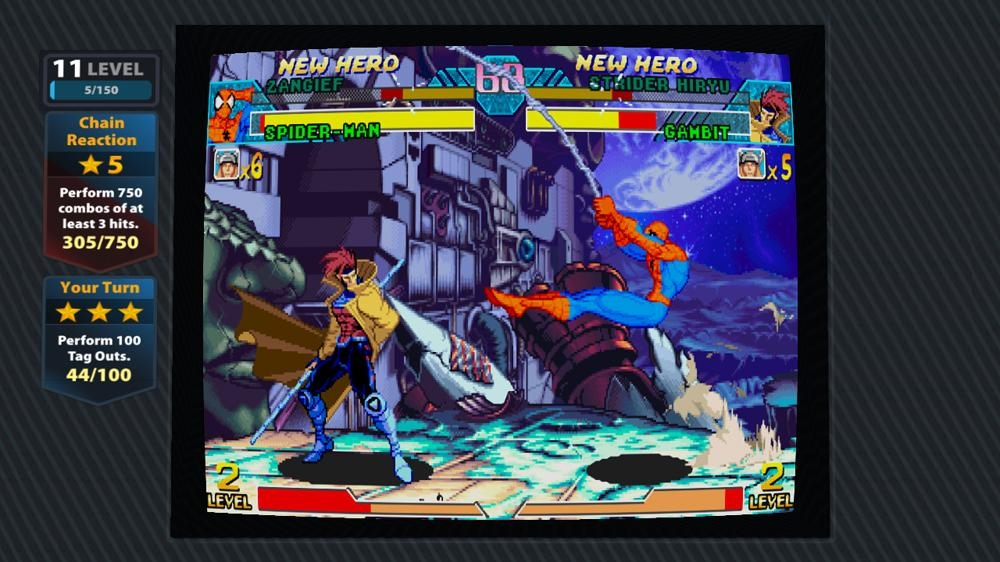 Bild från Marvel vs. Capcom: Origins