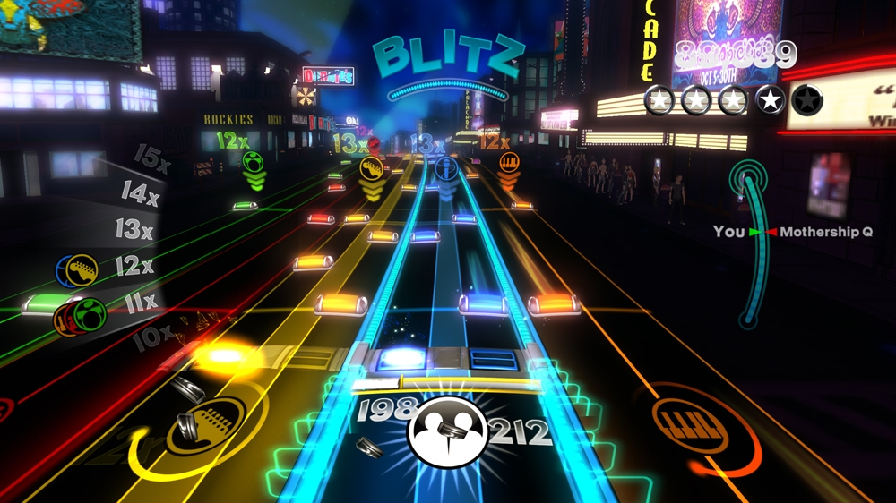 Image from Rock Band Blitz