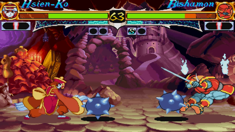 Kuva pelistä Darkstalkers Resurrection