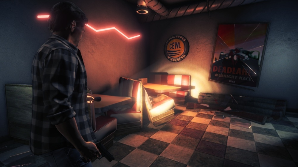 Image from Alan Wake&#39;s American Nightmare 