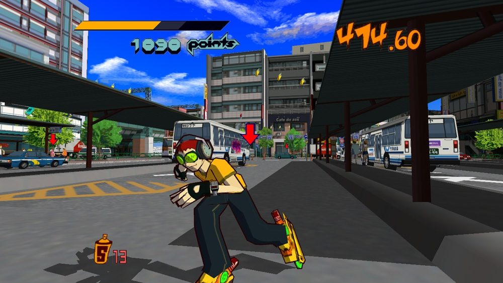 Bild frn Jet Set Radio