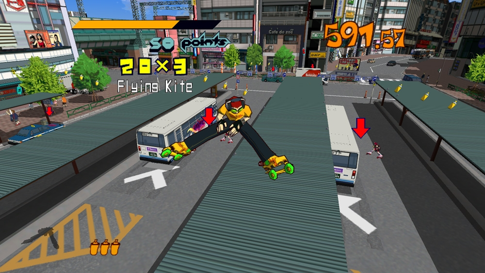 Immagine da Jet Set Radio