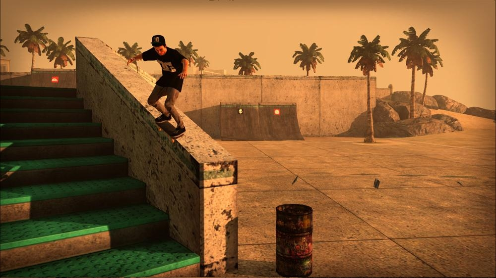 Kuva pelist Tony Hawk&#39;s PS HD