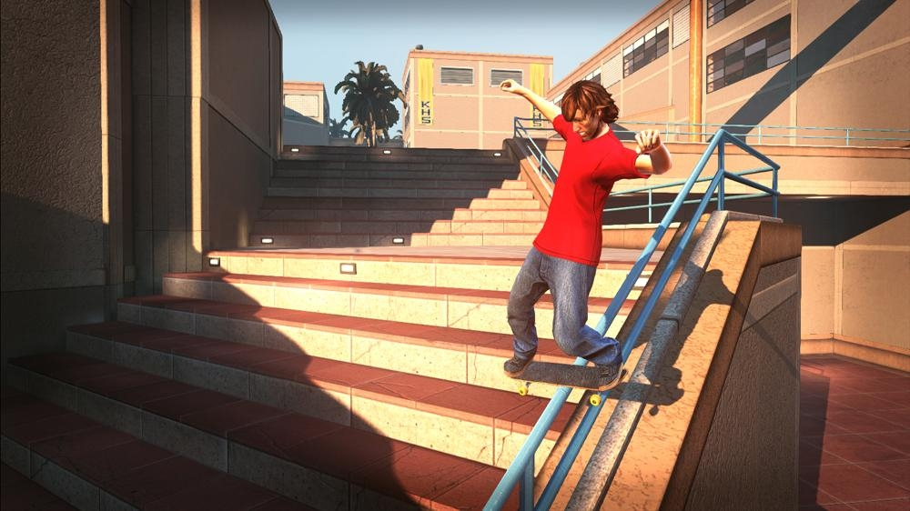 Image from Tony Hawk's PS HD