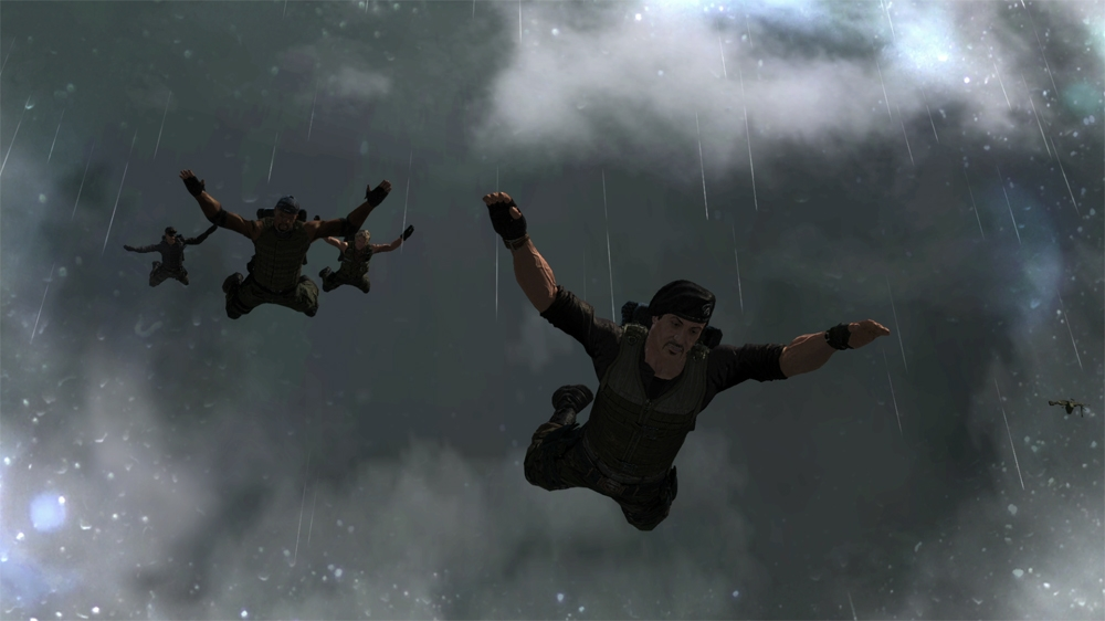 Image from The Expendables 2 Videogame