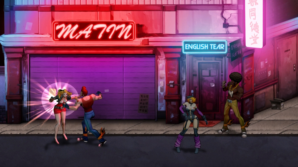 Image de Double Dragon Neon