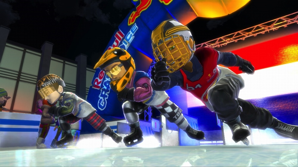 Kuva pelistä Red Bull Crashed Ice Kinect